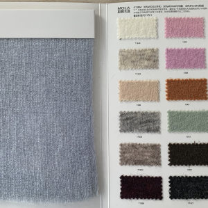 De gama alta extrafina 1/13 nm 30% lana 30% mohair 40% mezcla de nylon hilo de fantasía