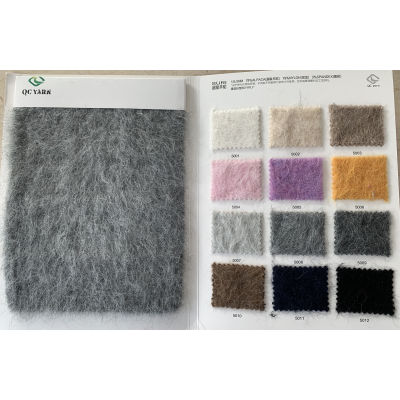 última moda de alta gama 1 / 5.5nm 78% alpaca 19% nylon 3% spandex hilo elegante