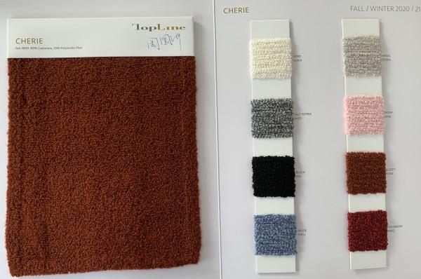 lujo lujoso de gama alta 80% cachemira 20% hilo de fibra de poliamida