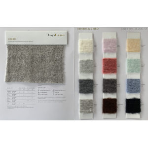 sustainable luxury 82%extrafine merino wool 18%cashmere fancy yarn