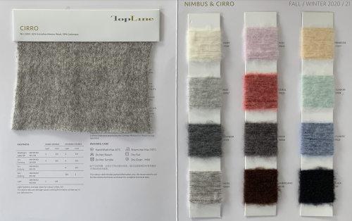 lujo sostenible 82% lana merino extrafina 18% hilo elegante de cachemira
