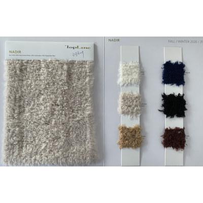 Lujo sostenible 60% lana mercerizada 26% cachemira 14% hilo de fibra de poliamida