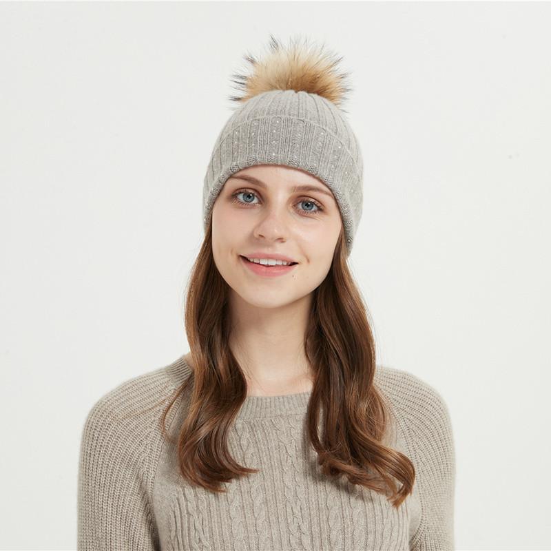 bonnet en laine et cachemire