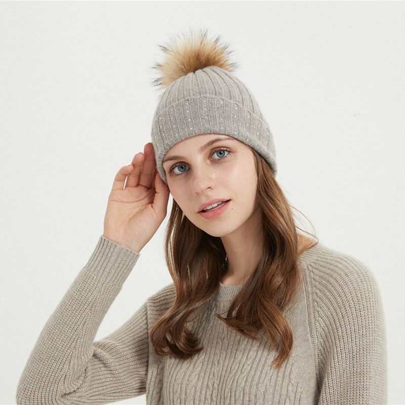bonnet en laine cahmere