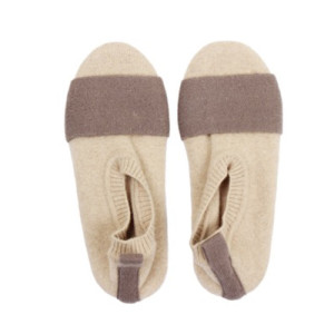 Wholesale high-end luxury pure cashmere slippers for women