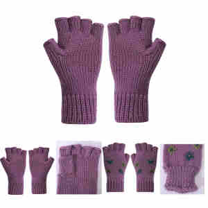 Wholesale Latest Fashion High Quality solid Color Cashmere glove For Fall Winter China factory