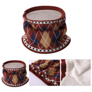 Wholesale Pure Cashmere intarsia knitted bib in small MOQ and factory price