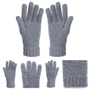 Wholesale Latest Fashion High Quality Cashmere Mittens in Middle Size