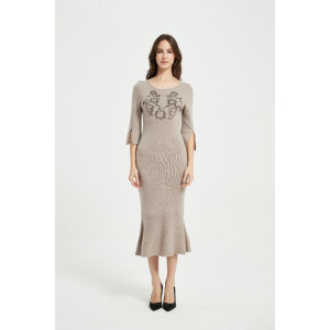 Wholesale New Cashmere Women Rope Embroidery Knitwear From China Supplier