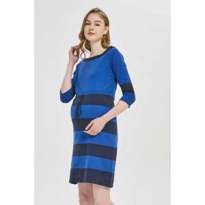Small MOQ Custom Design of the Fashion High Quality Luxury Cashmere Maternity Dress China Manufacturer