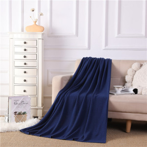 noble household Articles knitting pure cashmere blanket throw on rocking chair sofa or bed from chinese factory