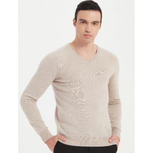 Chinese Leading Mens Recycled Pure Cashmere Pullover