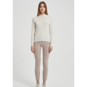 Leading Recycled Cashmere Supplier for women pants in recycled cashmere