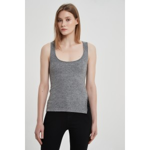 Wholesale High Quality Ladies Machine Washable Cashmere Tank Top For Spring Summer