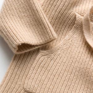sudadera con capucha de cachemir para niña con tacto extra fino ultra suave