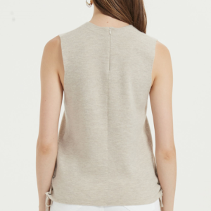 t-shirt léger en soie de cachemire pour femme au quotidien