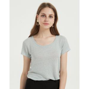 neues Design Damen T-Shirt mit Baumwolle Modal Stoff