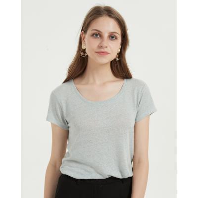 nouveau t-shirt femme design avec un tissu en coton modal