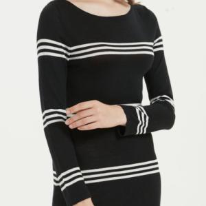 vestido largo de mujer de cachemir puro con múltiples colores