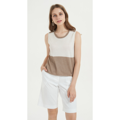 camiseta ligera de seda de cachemira para el verano