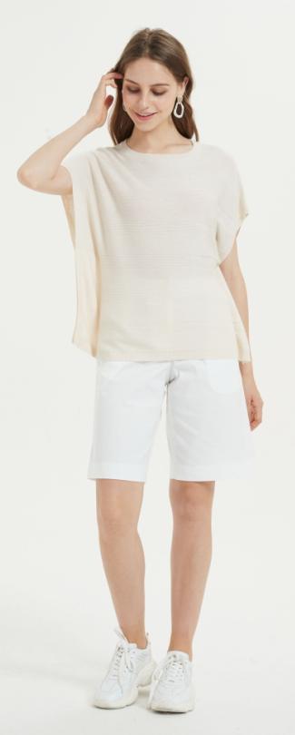 tshirt en soie cachemire