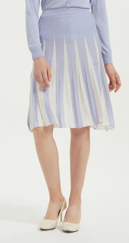fantaisie femmes style pur cachemire robe courte avec multi couleurs