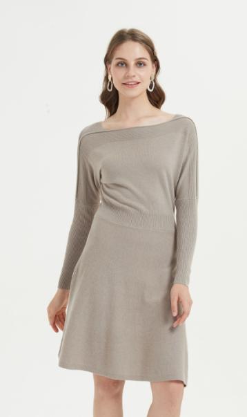 vestido de mujer de cachemir