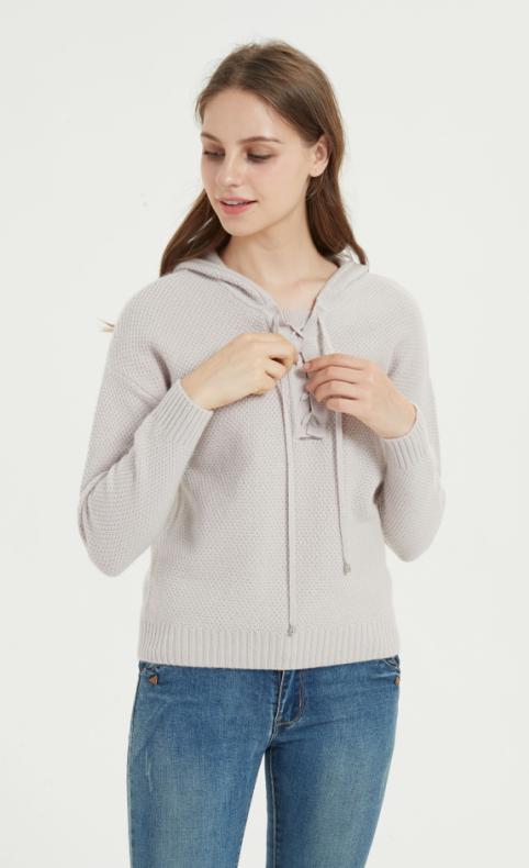 nouveau pull en cachemire pur pour femmes de couleur violette