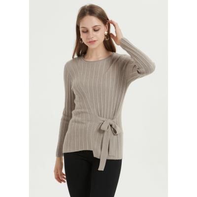 nuevo diseño de puro cachemir suéter de mujer para mujer