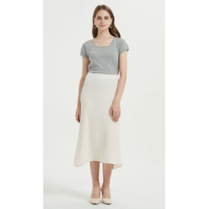 High quality wholesale women latest silk cashmere skirt in reasonable price