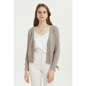 chinese cashmere cardigan supplier women high quality cashmere cardigan with low price