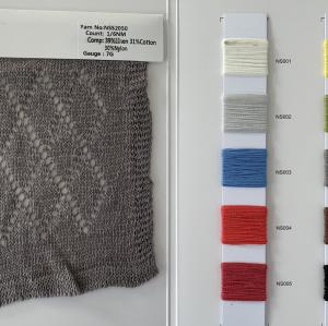 última moda de alta calidad nuevo hilo de fantasía en la calidad de 1 / 6nm 39% lino 31% algodón 30% nylon