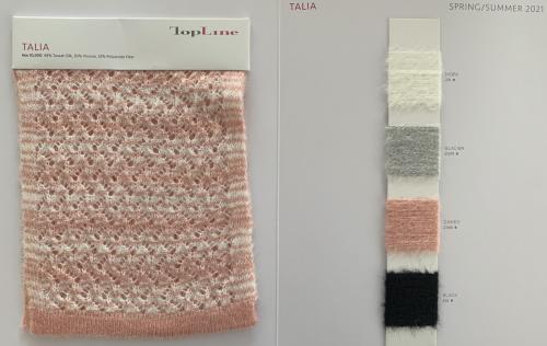 Ewsca automne nouveau fil fantaisie mode avec mélange de soie