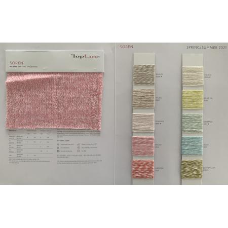 Nachhaltiger Luxus 63% Leinen 37% Cashmere Fancy Yarn
