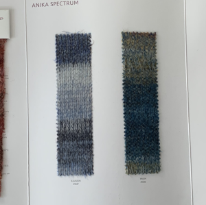 Ewsca automne luxe nouveau fil fantaisie avec mélange d'alpaga et couleurs de stock 80% cachemire 20% polyamide