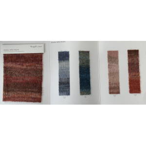 Ewsca fall luxury new fancy yarn with alpaca blend and stock colors 80%cashmere 20%polyamide