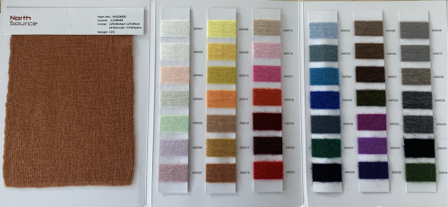 alta calidad 1 / 28nm 10% mohair 12% lana 26% acrílico 52% hilo de fantasía mezcla de nylon