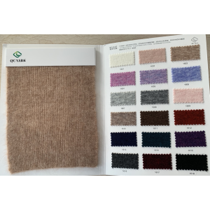 extrafine 1/16nm 48%wool 20%mohair 28%nylon 4%spandex blend fancy yarn