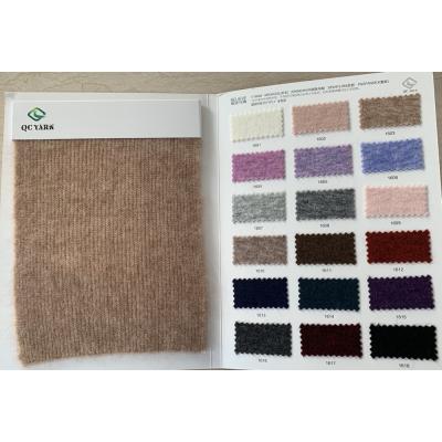 extrafino 1 / 16nm 48% lana 20% mohair 28% nylon 4% spandex hilo de fantasía
