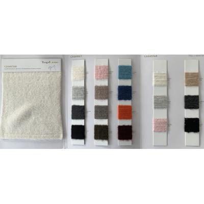 lujo sostenible de alta calidad 56% cachemir 28% algodón 12% fibra de poliamida 2% lentejuelas 2% hilo de fantasía elastán
