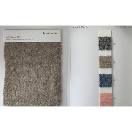 Nachhaltiger Luxus 27% Superfeines Alpaka 28% Wolle 45% Polyamidfaser-Fancy-Garn