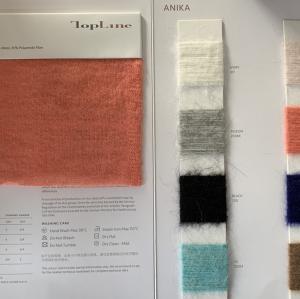 Luxe durable 27% Alpaga superfin 28% Laine 45% Fibre de polyamide Fancy Yarn Nm13000