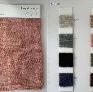 Nueva moda de alta calidad de lujo sostenible 53% lana 17% alpaca 30% hilo de fantasía de fibra de poliamida