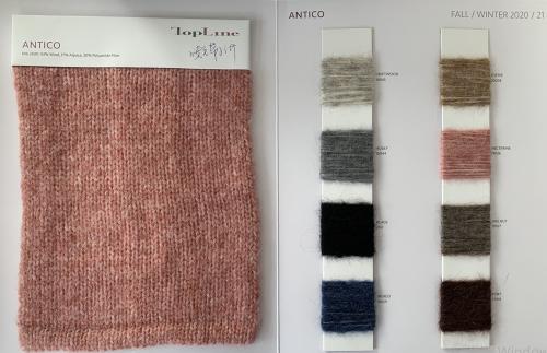 nouvelle mode haute qualité luxe durable 53% laine 17% alpaga 30% fibre de polyamide fil fantaisie