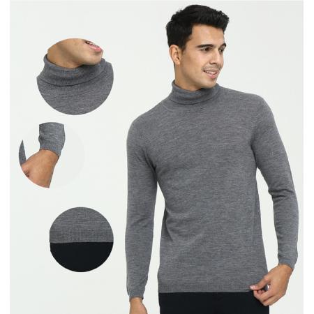 Basic Rollkragenpullover aus reinem Kaschmir für den täglichen Gebrauch