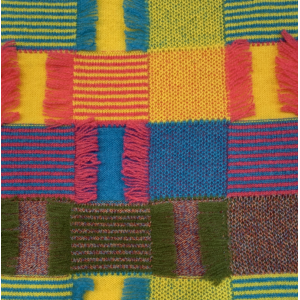 Knitted Colorful Cashmere Pattern in 100% Cashmere Yarn with new Design