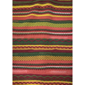Knitted Cashmere Pattern in 100% Cashmere Yarn with new Stripes Design from china