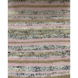 Knitted Pure Cashmere Pattern with new Stripes Design