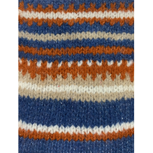 New Design Knitted New Pattern in Moahir Blend Yarn with