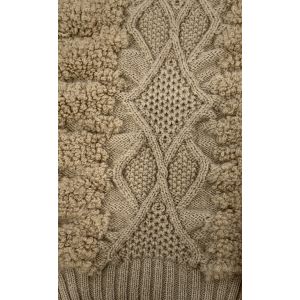 Knitted Latest Pattern in Moahir Blend Yarn with new Design